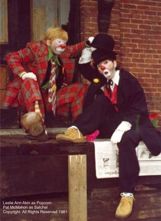 tramp-clowns